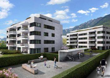 Überbauung Salvatorenpark Chur